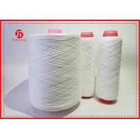 Dope Dyed Polyester Spun Knitting Yarn Autocone For Garment / Bed - sheeting Manufactures