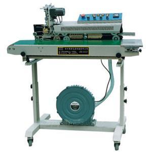 DBF-1000 puffed food air-filling sealing machine/band sealer Manufactures