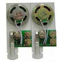 China Motion sensor music by pull-tab switch mini Recordable Sound Module for post card on sale