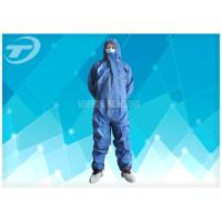 Hospital Disposable Coverall Suit Medical Polypropylene Coveralls For Cleanroom Manufactures