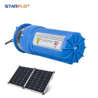 China Plastic 12 Volt Submersible Water Pump , Solar Powered Dc Water Pump Iron on sale