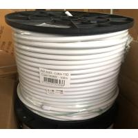 19 VATC 75 Ohm Coaxial Cable White PVC 300m and 100m export to France Manufactures