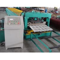 China Steel Metal Roof Panel Roll Forming Machine Roof Panel Roll Former With 5 Ton Decoiler on sale