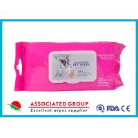 Healthy Reusable Wet Wipes Tissues / Eco Friendly Organic Wet Wipes Manufactures