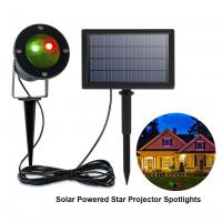China Solar Powered Laser Light Projector Extra-Bright LED Stake Lights Outdoor Christmas Lights (Red&Green) on sale