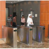 Hidden gate turnstile for luxury office buildings Manufactures