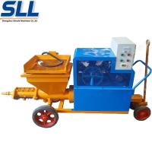 High Power Mortar Mixer Machine Diesel Wall Putty Coating Rendering Machine Manufactures