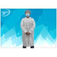 Microporous Medical Lab Coats Soft , Waterproof And Breathable Surgical Scrub Suits Manufactures