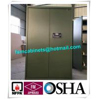 Gun Safety Storage Hazardous Storage Cabinets , Weapon Safety Storage Cabinets For Gun Manufactures