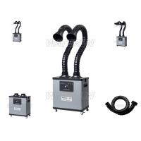 Low Noise Double Arm Portable Fume Extractor 75mm Duct For Medical Field Manufactures