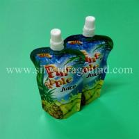 Stand up spout pouch for 250ml pineapple juice packing Manufactures