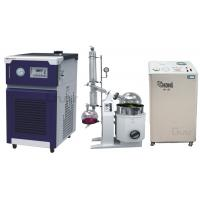 China Zhengzhou Greatwall 20L Rotary Evaporator with Chiller & Solvent Recovery Pump on sale