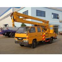 China High Altitude Operation Aerial Truck Equipment , JMC 14 Meters Elevating Platform Truck on sale