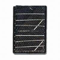 1V Solar Cell Module, Measures 95 x 65 x 6mm, with Gem-like Pattern Manufactures