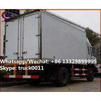 Quality High quality and competitive price dongfeng 10tons 170hp diesel cold room truck for sale, refrigerator van truck for sale