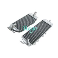 1 Year Warranty Motorcycle Racing Small Aluminium Radiator For 2006 Kawasaki KX250F Manufactures