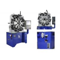Spring Steel 0.8 - 4.2mm Wire Forming Machine CNC Controlller 100KG Decoiler Manufactures