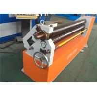 Asymmetric Plate Bending Roller Machine , W11F - 4x1500 Three Roller Pipe Bending Machine Manufactures