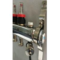 Vieable Flowmeter Floor Heating Manifold With Adaptor Size 12-16 Manufactures