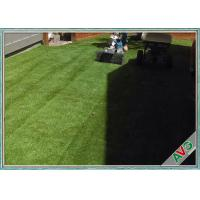Multi functional Garden Artificial Turf / Fake Grass For Playground Decoration Manufactures