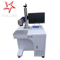 Keyboard Portable Fiber Laser Marking Machine Compact Without Consumptive Materials Manufactures
