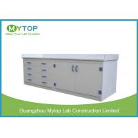 Clinic PP Modular Lab Furniture Chemical Resistance Lab Table For Laboratory Manufactures