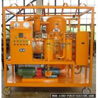 China VFD Double-Stage Vacuum Insulation Oil Purification System with Filtration Accuracy less than 5um for sale on sale