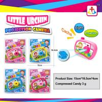 Buy cheap Press candy with toy candy in projection camera toys from wholesalers