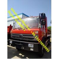 High qulaity and best price Dongfeng 4*2 LHD dump tipper for stones and coals for sale, China made tipper truck Manufactures