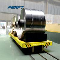China Custom Battery operated steel coil material handling transfer cart equipment on sale