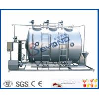Small Conjunct Type 500LPH CIP Cleaning System For Milk Dairy Industry Manufactures