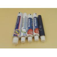 CFDA Certificate Aluminum Ointment Tubes , Pharmaceutical Empty Squeeze Tubes Manufactures