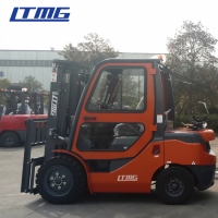 China LTMG LPG Gas Forklift Truck 3.5 Ton , Full Free 2 Stage Mast Forklift Machine on sale