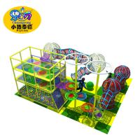 Amusement Park Rainbow Net Outdoor Obstacle Course Equipment For Kids Manufactures