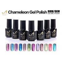 Chemical Free Magnetic Chameleon Gel Nail Polish Nail For Art Salon Odorless Manufactures