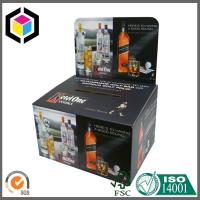 Double Wall Heavy Duty Bottle Water Corrugated Cardboard Display Box Stand Manufactures