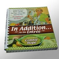 Colourful Cook Softcover Book Printing Customized With Die Cutting Manufactures