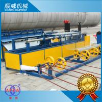Weaving Breadth 0.5m - 4.2m Chain Link Wire Machine For Highway / Railway Fencing Manufactures