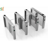 Auto Pedestrian Supermarket Swing Entrance Barrier Gate Turnstile 304 Stainless steel Manufactures