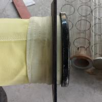 FMS 9806 DN130x6000mm high temperature dust filter bag used in Sinosteel design dry GCP system Manufactures