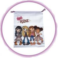 Customizable Cute Small Cotton Drawstring Bags For Jewelry / Ornament Manufactures
