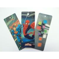 PET 3D Lenticular Personalized Book Marks With CMYK Printing 0.65 mm Thick Manufactures