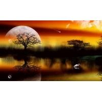 China 3d lenticular murals on sale