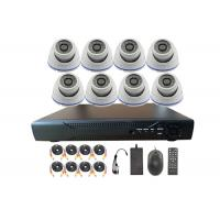 2 Mega Pixel 8 Channel Outdoor Home Security Camera Systems With NVR Manufactures