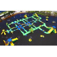 portable water park water games park water park games amusement park slide for sale giant inflatable floating water park Manufactures