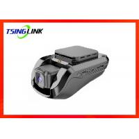 Small Size 4G Wireless 1080P GPS Tracking Dash Cam With Night Vision Black Color Manufactures