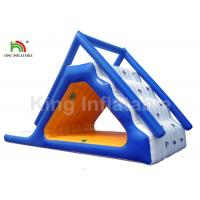 Quality CE / UL 0.9mm PVC Tarpaulin Durable Inflatable Water Slide with Pump and Repair for sale