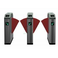 Electronic High Speed Flap Barrier Gate /  Pedestrian Turnstiles Manufactures