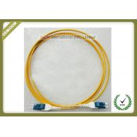Multimode Fiber Optic Patch Cord , Duplex Fiber Optic Cable With Low Insertion Loss Manufactures