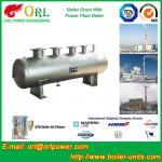Reduce emissions gas steam boiler mud drum TUV Manufactures